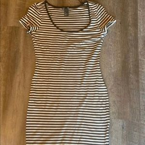 H&M Striped Dress small